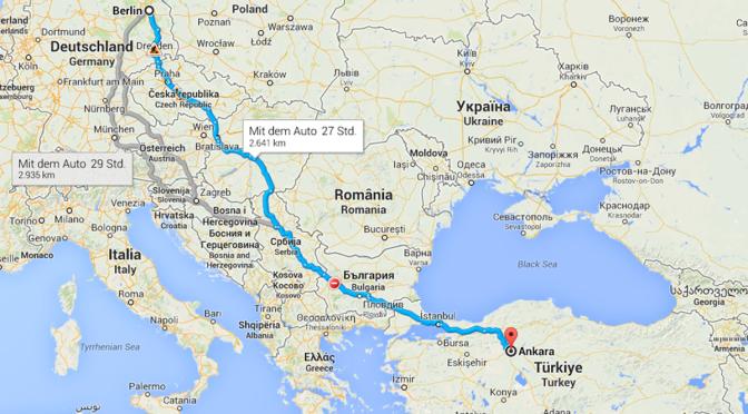 Almanya'dan Türkiye'ye Yol – Türkiye Yolu