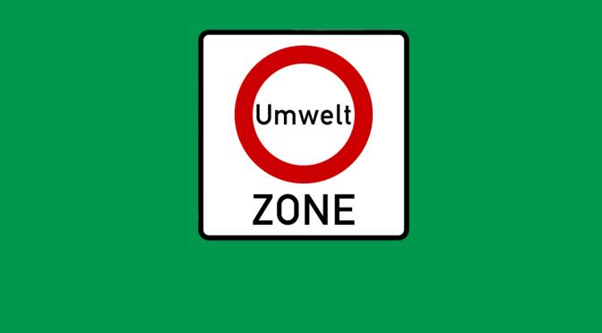 Umwelt Zone = Çevre Pulu